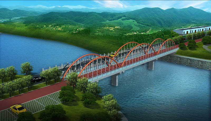 龙湖桥方案二(图1)